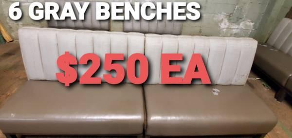 Photo Used Restaurant Booths - $250 (Prestige Worldwide Sales LLC)