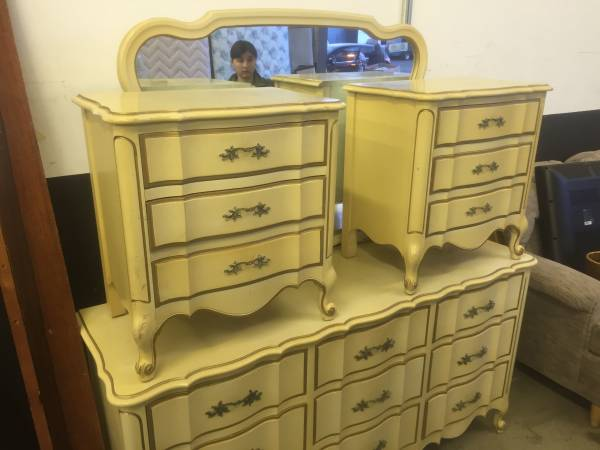 Vintage Dixie French Clonial Bedroom, Dixie Bedroom Furniture