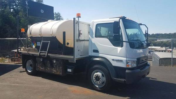 Photo WATER TRUCK FORD ROAD DE-ICER FIRE SUPPRESSION TRUCK - $19,500 (Coos Bay)