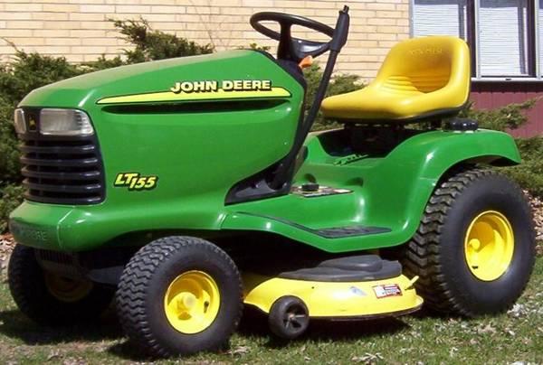Photo WTB Hood for John Deere LT155 mower - $2 (Otis. Near Lincoln City)