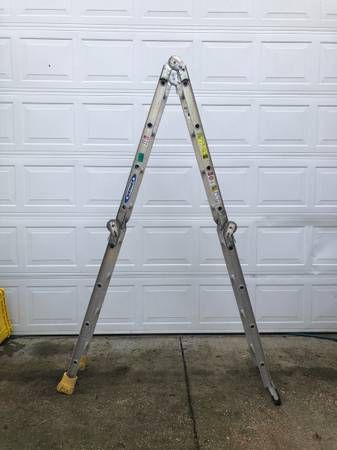 Photo Werner M2-8-16 Folding Ladder - $100 (Florence)