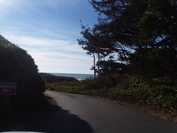 Photo Ocean View Lot WPrivate Beach Access, Gated, Upscale Homes  (Shoreline Dr, Florence, OR)