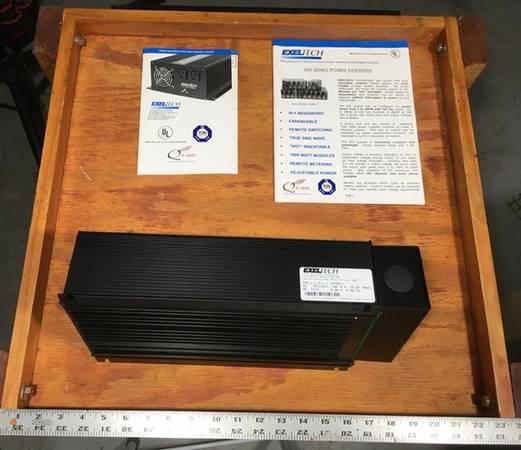 Photo 1000 Watt Exeltech Inverter - $400 (Winter Park)