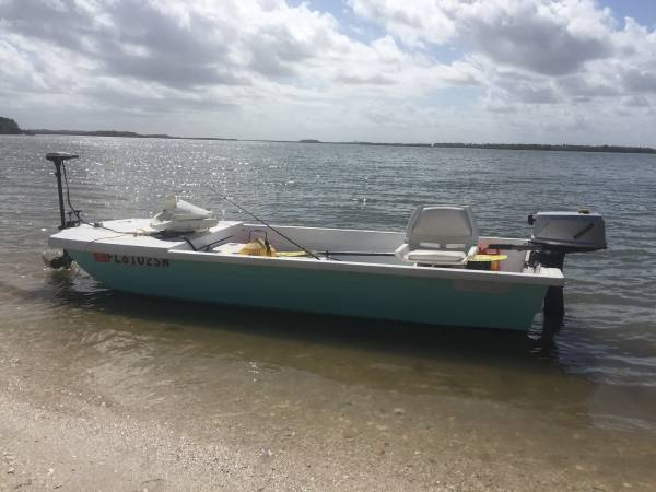 Photo 13 ft gamefisher boat - $1500