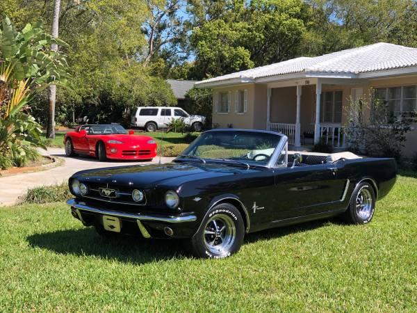 Photo 1965 Ford Mustang Convertible A Code V8 - $34,000 (Orlando)