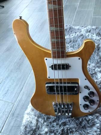 Photo 1975 rickenbacker 4001 bass - $2000 (Kissimmee)