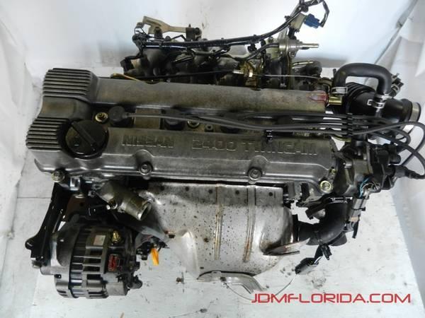 Photo 1993 - 2001 JDM NISSAN ALTIMA 2.4L FWD ENGINE 2000 1999 1998 1997 - $549 (CENTRAL FLORIDA)