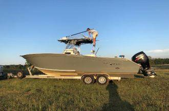 Photo 1996 Cape Horn Yachts 27 foot Cape Horn with twin 2014 Suzuki - $29000