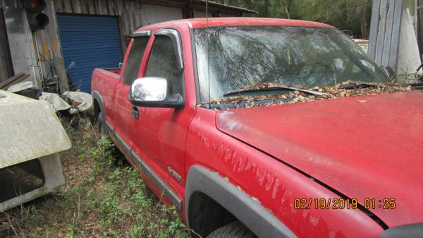 Photo 1999 Chevy 1500 extended cab Z71 LS 4X4 for parts - $3,500 (Ladly Lake, Fl.)