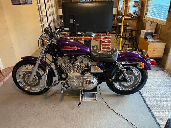 Photo 2002 Harley-Davidson 883 Sportster Low mile 1,056 Always stored indoor - $6,900 (Winter Garden)