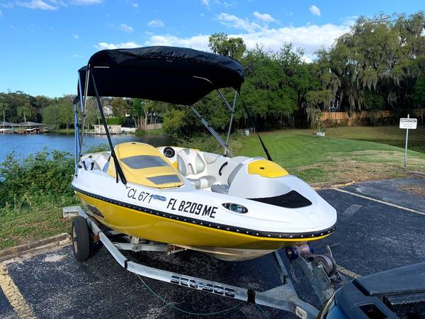 Photo 2003 SEADOO SPEEDSTER GREAT LITTLE JET BOAT FOR SOME SUMMER FUN - $6,900 (ORLANDOCOLLEGE PARK)