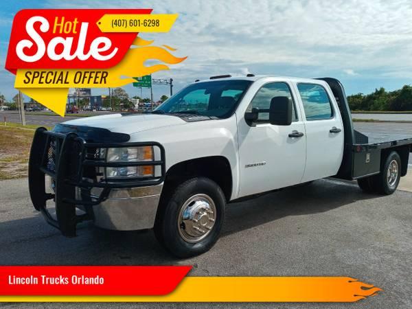 Photo 2012 CHEVY SILVERADO 3500 HD GAS CREWCAB AUTOM 166 K MLS CLEAN CARFAX - $17,900 (Orlando)