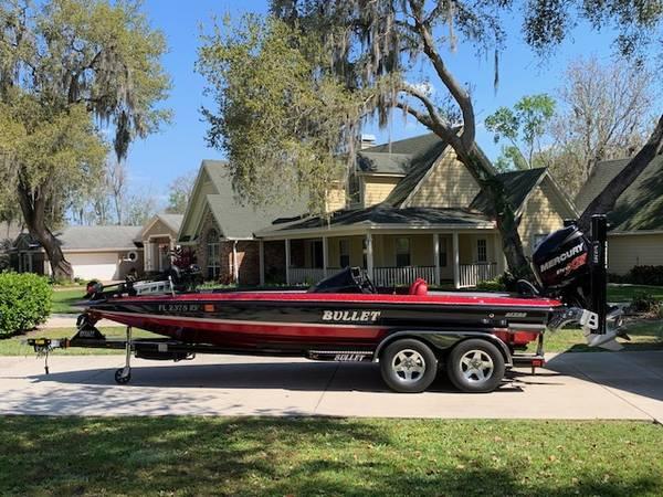 Photo 2014 Bullet 21XRS Bass Boat - $49,900 (Tavares)