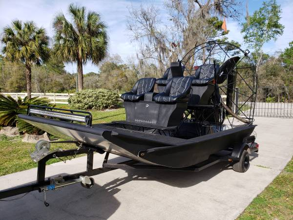 Photo 2016 Dynamarine Revo Airboat 383 SBC Rotator Gearbox Excellent Cond. - $24900 (Lake HelenDeland)