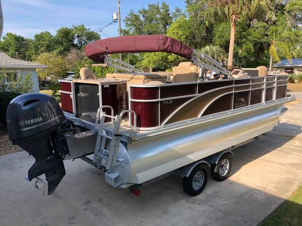 Photo 2018 Bennington Pontoon  Trailer SX21 Saltwater Series-ready to enjoy - $29800 (Homosassa Florida)