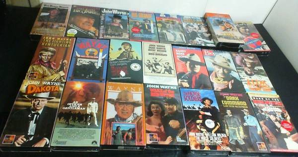 Photo 22 John Wayne VHS Tapes  All BRAND NEW, STILL SEALED All for $15.00 - $15 (KISSIMMEE)