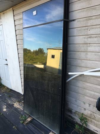 Photo 2 pane insulated commercial glass 7 ft x 42 in - Lot of 3 - $300 (Clermont)