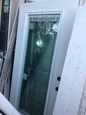 Photo 36x80 exterior door with full miniblind - $300 (Sanford)