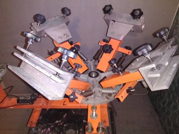 Photo 4 color screen press machine - $500 (Kissimmee)