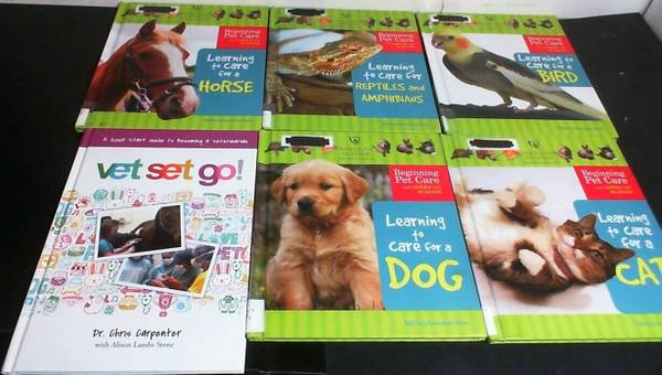 Photo 6 Children39s Books about Caring for Pets  Cats, Dogs, Birds, Horses  - $10 (KISSIMMEE)