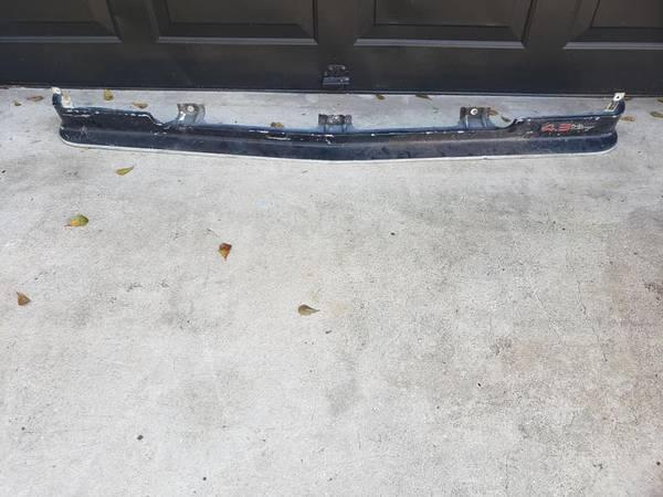Photo 82 - 1990 Chevy S10 Blazer Gmc S15 Sonoma Front Bumper Filler - $20 (casselberry)