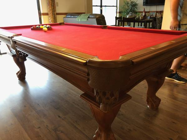 Photo 839 American Heritage Pool Table - Excellent Condition - $1200 (Sanford)