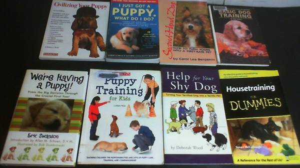 Photo 8 Books on Puppy Dog Training, Housebreaking, Puppy Training for Kids - $10 (KISSIMMEE)