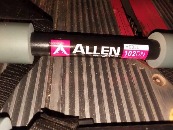 Photo Allen Sports Deluxe 2-Bike Trunk Mount Rack, Model 102DN-R - $18 (Sanford)