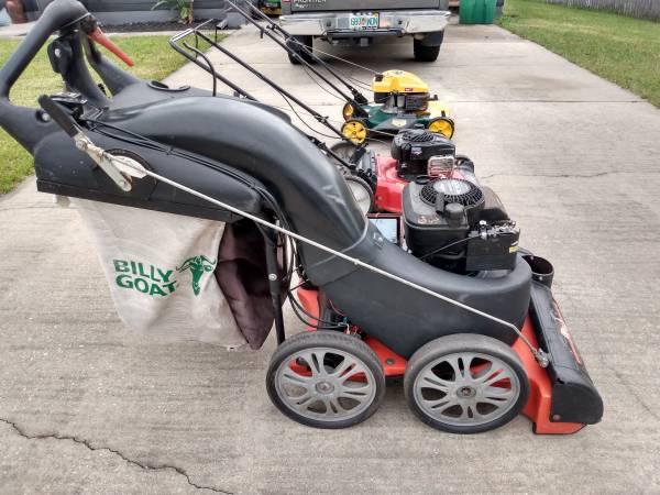 Photo Billy Goat Leaf Vacuum, Yard Man , YardMachinesMowers - $600 (Deltona)