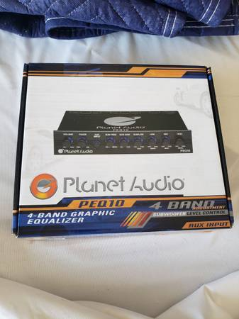 Photo Brand New Planet Audio 4 Band Graphic Equalizer - $35 (Winter Garden)