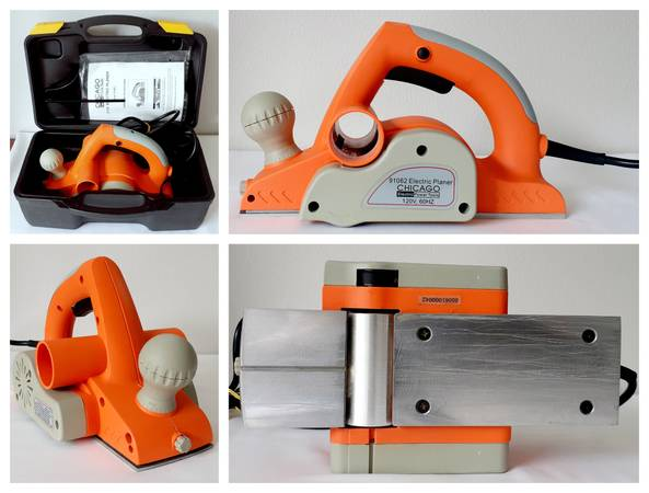 Photo Chicago Electric Power Tools 3-14 Electric Planer - $40 (WINDERMERE)