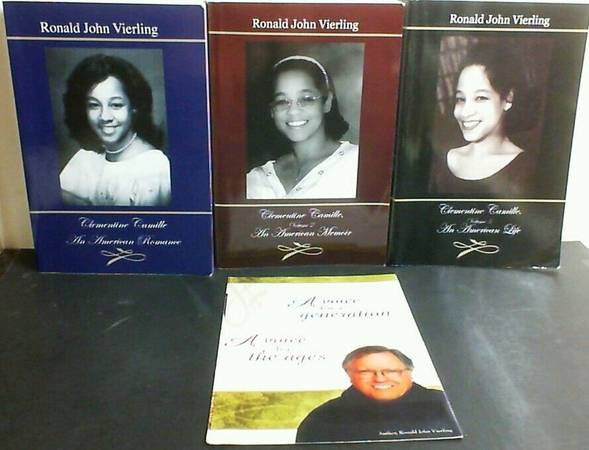 Photo Clementine Camille Trilogy 3 Volumes All Signed An American Romance, L - $10 (KISSIMMEE)