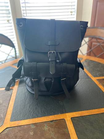 Photo Coach Leather Backpack - $199 (Orlando)