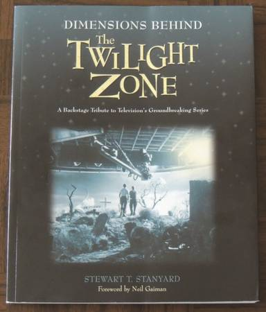Photo DIMENSIONS BEHIND THE TWILIGHT ZONE Book Stewart Stanyard Paperback - $18 (Four Corners)