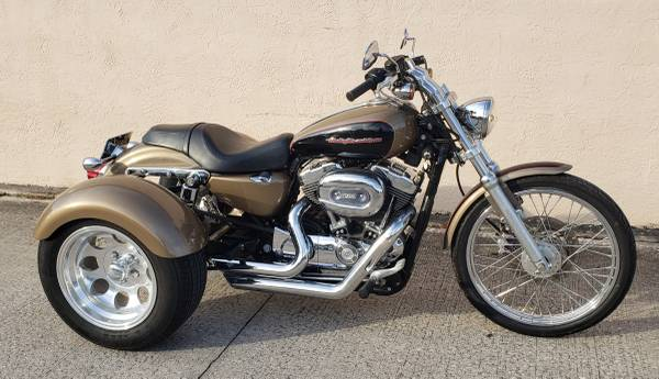 Photo Harley Sportster trike conversion - $8,900 (Cocoa)