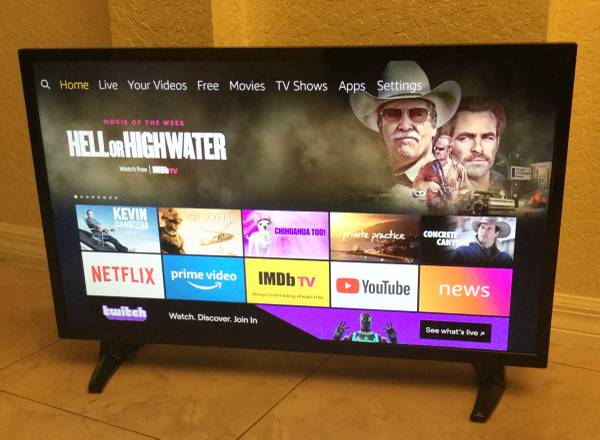 Photo Insignia 32 HD Fire Smart TV, Excellent Condition. - $90 (SW Orlando, Kissimmee)