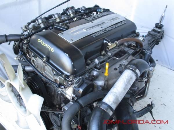 Photo JDM NISSAN 240SX  SILVIA SR20DET S13 ENGINE  5 SPEED TRANSMISSION - $3,400 (JDM FLORIDA)