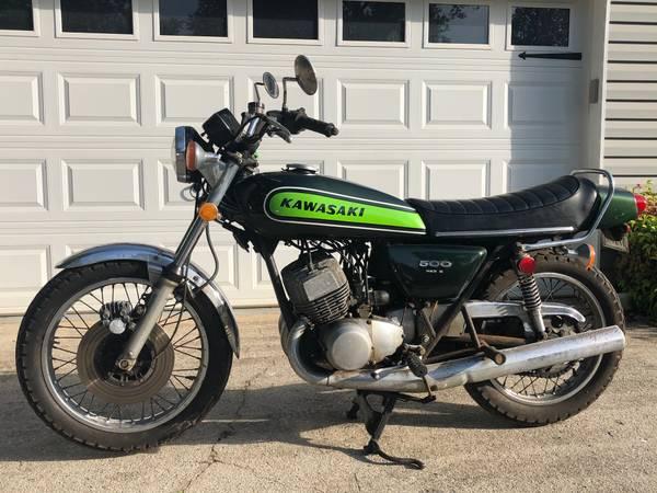 Photo Looking for vintage Kawasaki motorcycles (Orlando)