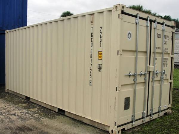 Photo NEW 20 FT STANDARD and 40 Ft DOUBLE DOOR CONTAINERS SPECIAL PRICE (Orlando, Fl)