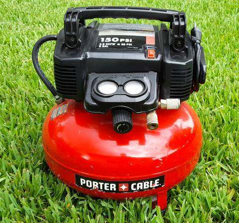 Photo Porter Cable Air Compressor - $95 (Orlando)