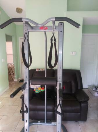 Photo Pull up and dip power tower by Bowflex - $150 (Clermont)