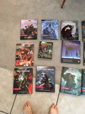Photo RPG Books (Dungeons and Dragons) - $100 (Maitland)