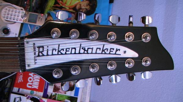 Photo Rickenbacker 12 String Copy by Jay Turser Coil Tapping 39Buckers - $149 (Winter Park)