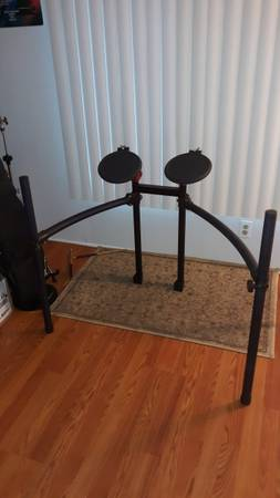 Photo Roland Drum Rack w Two Roland Drums - $75 (Eustis)
