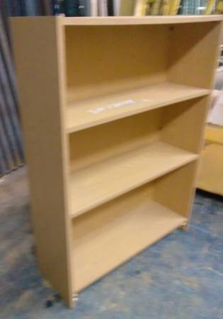 Photo Short Bookcase 4 Shelves Heavy Duty Quality w Solid Back 48quotx36quotx12quot - $30 (Orlando  Altamonte Springs area)