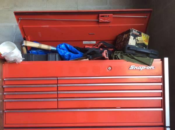 Photo Snap on snapon Snapon KA1200 tool chest - $2900 (Edgewater 32141 NSB)