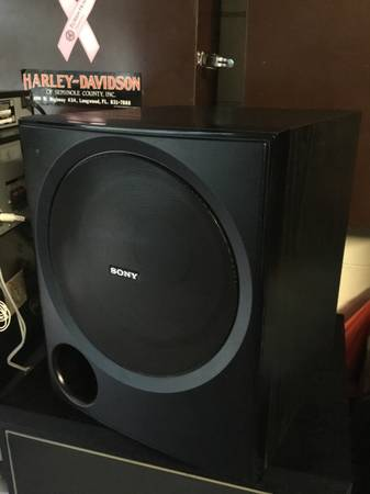 Photo Sony Powered Subwoofer SA-WP780 - $40 (Altamonte Springs)