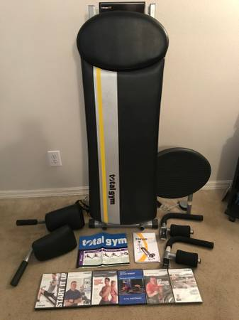 Photo Total Gym Fit home exercise equipment - $200 (Orlando)