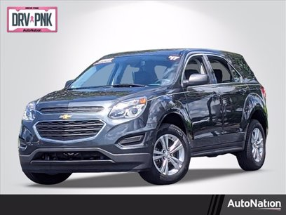 Photo Used 2017 Chevrolet Equinox FWD LS for sale