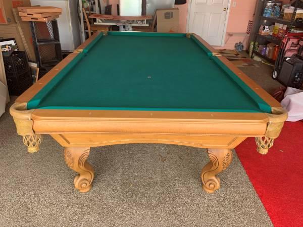 Photo Very Nice 9 Foot Proline Pool Table - $2,300 (longwood)